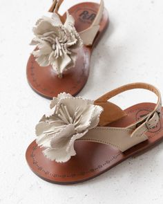 PEPE 2013SS Flower sandal co. grisal/bur