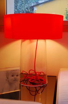 IKEA Hackers: Designer table lamp with Bladet vase
