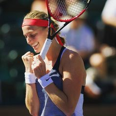 The most beautiful pic of Kvitova from Indian Wells 2016