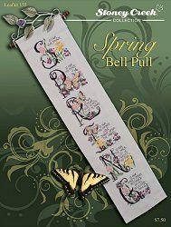 Leaflet 155 Spring Bell Pull – Stoney Creek Online Store