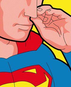 Funny and Sensual Secret Superhero Artwork by Gregoire Guillemin