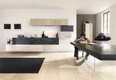 You breath in the kitchen 36e8. Design by: Daniele Lago