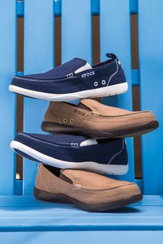 21a91701e23a35 Head to the boat and set sail!  Nautical  Style  Shoes  Crocs