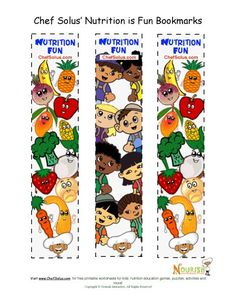 Bookmarks General Nutrition