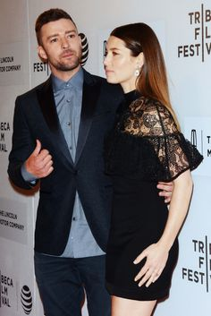 Justin Timberlake & Jessica Biel 2016 Tribeca Film Festival - Thursday (April 14) at the BMCC John Zuccotti Theater in New York City