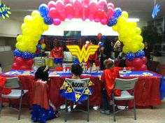 "Photo 7 of 38: Superhero / Birthday ""Wonder Woman (Shabby Chic)"""