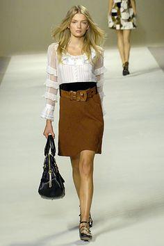Chloé Spring 2007 Ready-to-Wear Fashion Show - Lily Donaldson
