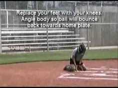 ▶ The Slides Drill for Catchers - YouTube