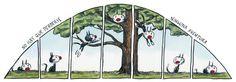 Fellini y Henriqueta Comic Frame, Humor Grafico, Calvin And Hobbes, Under Construction, Picture Quotes, Outdoor Gear, Weird, Christian, Cartoon