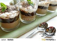 Čokoládový pohár s mascarpone recept - TopRecepty.cz Sweets Cake, Pavlova, Something Sweet, Trifle, Nutella, Baked Goods, Cookie Recipes, Cheesecake, Food And Drink