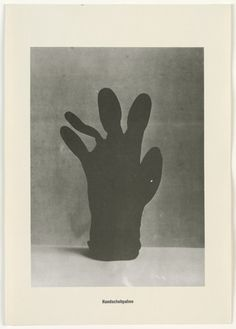 Sigmar Polke with Christof  Kohlhöfer. Glove Palm Tree (Handschuhpalme) from the Palm Tree Series (Palmenserie) from .....Higher Beings Ordain (.....Höhere Wesen befehlen) 1966, published 1968
