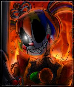 second part of this. (it has never been too good than before, but who cares, just ignore it) I love her. (please remind me t. Sister Location Baby, Pole Bear, Fnaf 5, Fnaf Baby, Fnaf Wallpapers, Circus Baby, Fnaf Characters, Freddy Fazbear, Five Nights At Freddy's