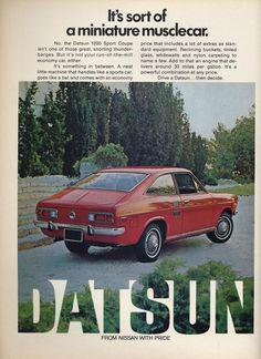 1972 Datsun 1200 Sport Coupe https://plus.google.com/+JohnPruittMotorCompanyMurrayville/posts 09/10/2015