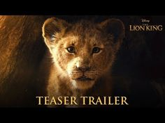 """Disney releases teaser for live action """"Lion King"""" film featuring Donald Glover Beyonce and others Lion King Remake, Watch The Lion King, Lion King Movie, Donald Glover, Film Disney, Disney Live, Disney Movies, Beau Film, John Oliver"""