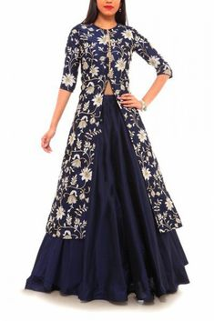 Banglori Silk Party Wear Lehenga Suit In Blue Colour Indian Gowns, Indian Attire, Indian Ethnic Wear, Pakistani Dresses, Indian Outfits, Party Wear Indian Dresses, Party Dress, Lehenga Suit, Party Wear Lehenga