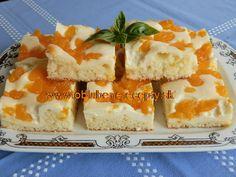 Tvarohový koláč s mandarinkami