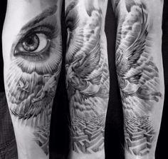Ikarus Tattoo von unserem A-Dem #blackpearltxttxx