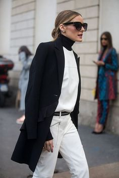 Olivia Palermo outside the Tod's show during Milan Fashion Week Fall/Winter 2017/18 on February 24 2017 in Milan Italy
