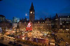Manchester Christmas Markets, Manchester, UK