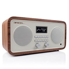 iNET3+ V2 Internet Radio nuss: Amazon.de: Elektronik Radios, Wireless Headset, Bluetooth, Radio Design, Internet Radio, Boombox, Retro Fashion, Televisions, Wood Ideas