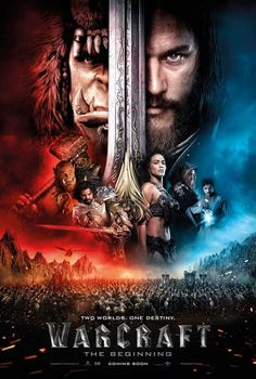 I can't wait for the #Warcraft movie!!!