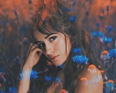 She Is Gorgeous, Beautiful Smile, Famous In Love, Camila And Lauren, Celebrity Drawings, Ariana, Haircuts With Bangs, Fifth Harmony, Pixie Haircut