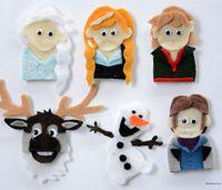 Disney Frozen Finger Puppets by Idea Room