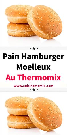 Burger Recipes 80091 Soft Hamburger Bread with thermomix. Discover the recipe for Soft Hamburger Bread, simple and easy to prepare at home with the thermomix. Hamburger Patties, Hamburger Buns, Hamburger Recipes, Ham Recipes, Waffle Recipes, Bread Recipes, Hamburger Casserole, Casserole Recipes, Biscuits