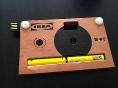ikea's digital cardboard camera