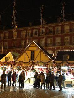 Mercadillo navideño Madrid