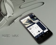 Music'T'Walk Android Homescreen by 21MaRcO12 - MyColorscreen