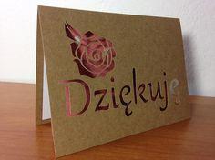 Dziękuję - Thank you in Polish