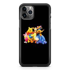 Winnie The Pooh Piglet Eeyore Kanga Tigger Cartoon  iPhone 11 / 11 Pro / 11 Pro Max Case
