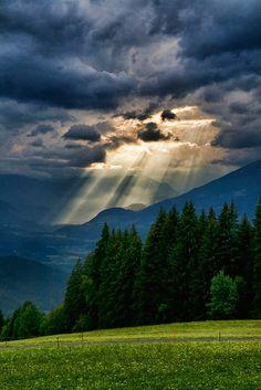 ♂ Amazing nature Mountain Storm, The Alps, Austria Beautiful Sky, Beautiful World, Beautiful Landscapes, Beautiful Places, Stunningly Beautiful, Beautiful Scenery, All Nature, Amazing Nature, Landscape Photography