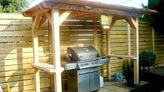 Que c'est désagréable utiliser le barbecue quand il pleut! Pour remédier à la situation, on vous montre comment construire un abri pour votre BBQ.