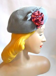 40s hat vintage hat