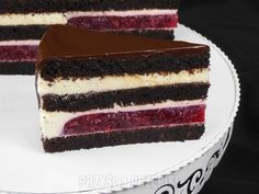 Beautiful Cakes, Amazing Cakes, Dessert Cake Recipes, Polish Recipes, Cake Flavors, No Bake Cake, Baked Goods, Sweet Recipes, Delicious Desserts