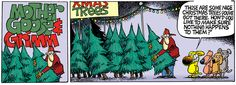 Mother Goose and Grimm ~ Mike Peters Website  ~  Christmas Trees & Dogs