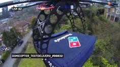 Pizza-Lieferung per Drohne? Flug Report bei HOTELIER TV: http://www.hoteliertv.net/f-b/