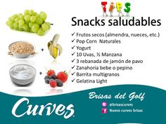 Snack Saludables #fitness
