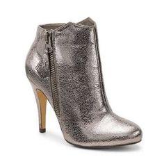 Botine argintii cu toc subtire elegante Zara Boots, Bootie Boots, Stiletto Heels, Style Me, Fashion Shoes, Christian Louboutin, Peep Toe, Pumps, Sandals
