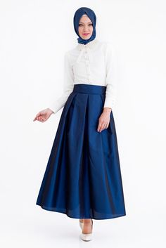 Taffeta Blouse Ball Gown with Tie Waist | More Ball skirt, High ...