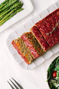 Loaf Recipes, Lentil Recipes, Vegan Dinner Recipes, Whole Food Recipes, Vegetarian Recipes, Cooking Recipes, Healthy Recipes, Vegetarian Brunch, Healthy Eats