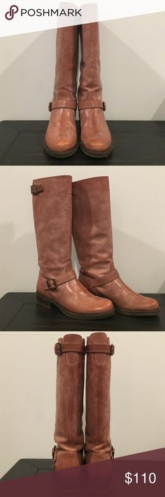 JCrew light brown Leather boots JCrew light brown Leather boots. Leather upper and leather lining. Excellent condition, worn a few times. J. Crew Shoes Heeled Boots