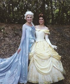 Two of my fav princesses together!