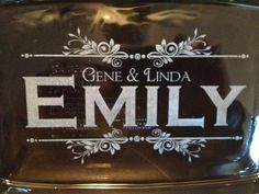 Personalized Pyrex Glass Bakeware dish 7X11 laser Engraved Wedding Gift Housewarming Gift, Personalized Pyrex, Pyrex Glass, 2 quart on Etsy, $24.95