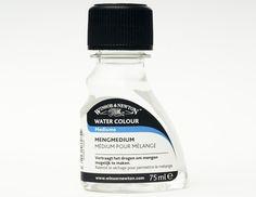 W&N Blending Medium Flacon met 75 ml Vertraagt de droging van aquarelverf en verlengt de verwerkingstijd, zelfs in een warm klimaat. Voor een maximaal effect alleen met dit medium verdunnen. Kan ook met water gebruikt worden. Flacon 75 ml.
