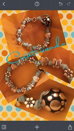 Creativando #bestfriend#bracelet#silver#newcreation