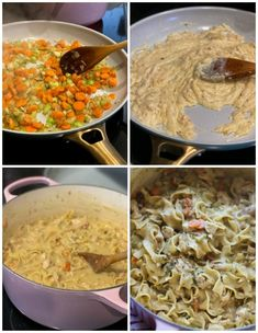 Creamy Chicken and Noodles Recipe | Cookies and Cups