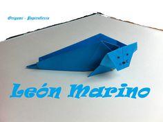 Origami - Papiroflexia. León marino